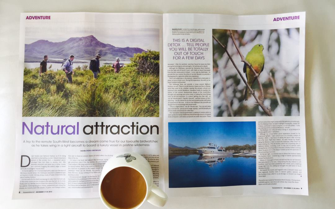 TasWeekend:  Journey Uncovers Natural Attraction