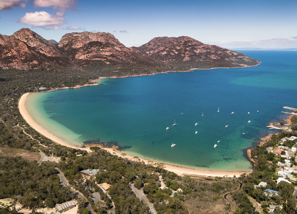 Coles Bay, Hazard Mountains & Freycinet National Park