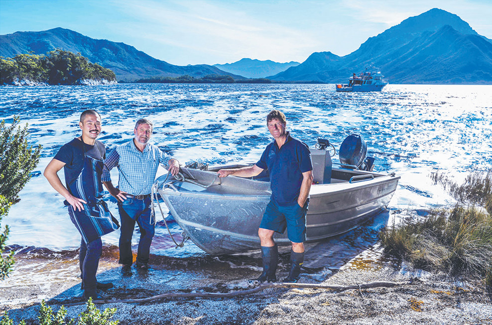 The Australian: Our Port Davey – Bathurst Harbour Charters are a great example of eco-tourism