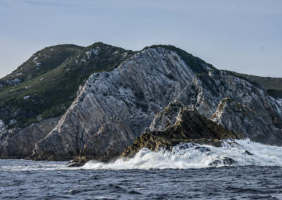 The-battered-coastline-of-the-Breaksea-Islands