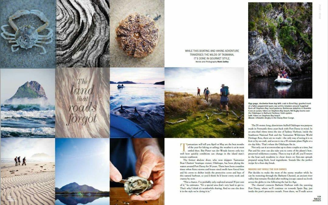 Selector Magazine: The land that roads forgot