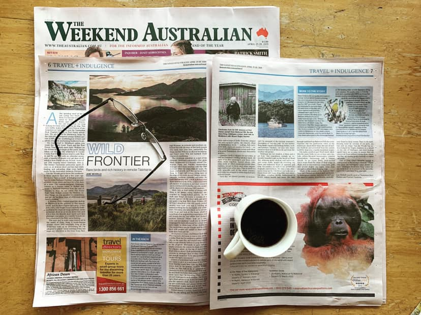 The Weekend Australian:  Wild Frontier